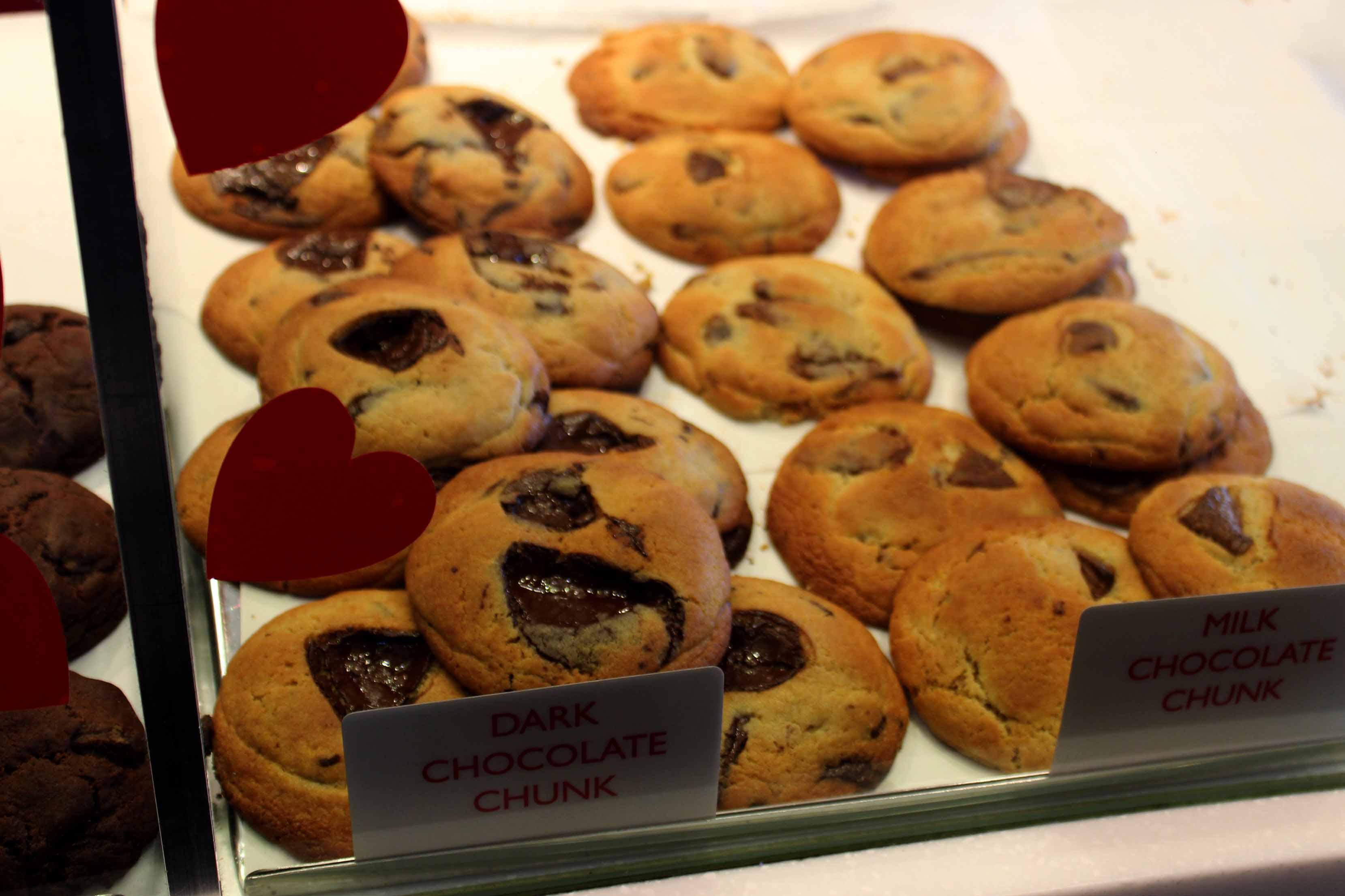 Taking a Break from BAFTA at Ben\'s Cookies in Covent Garden | Selene ...