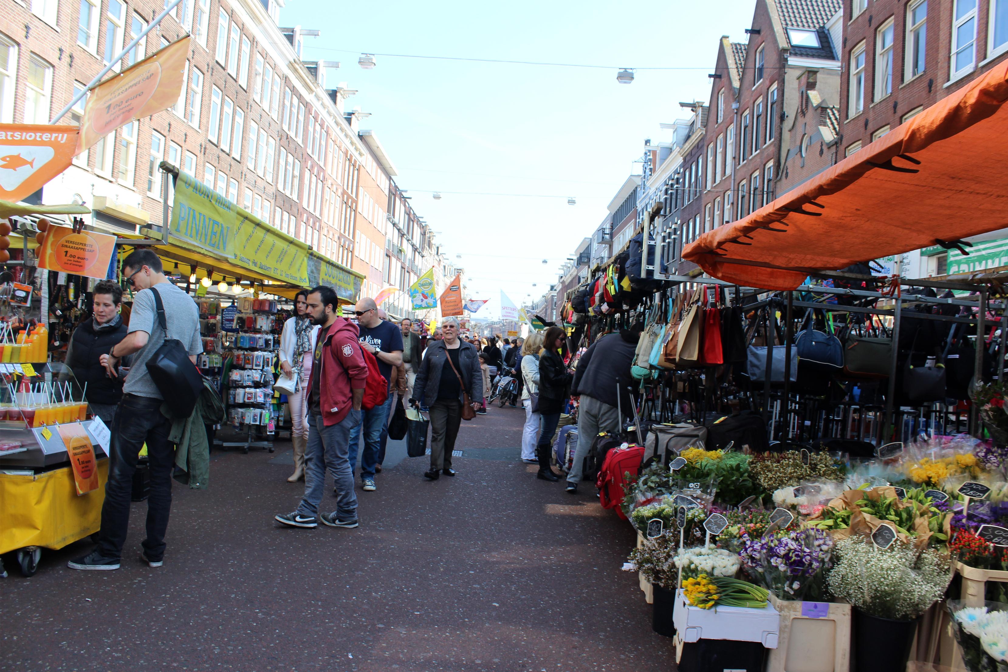 Zondag Albert Cuypmarkt Albert Cuyp Market