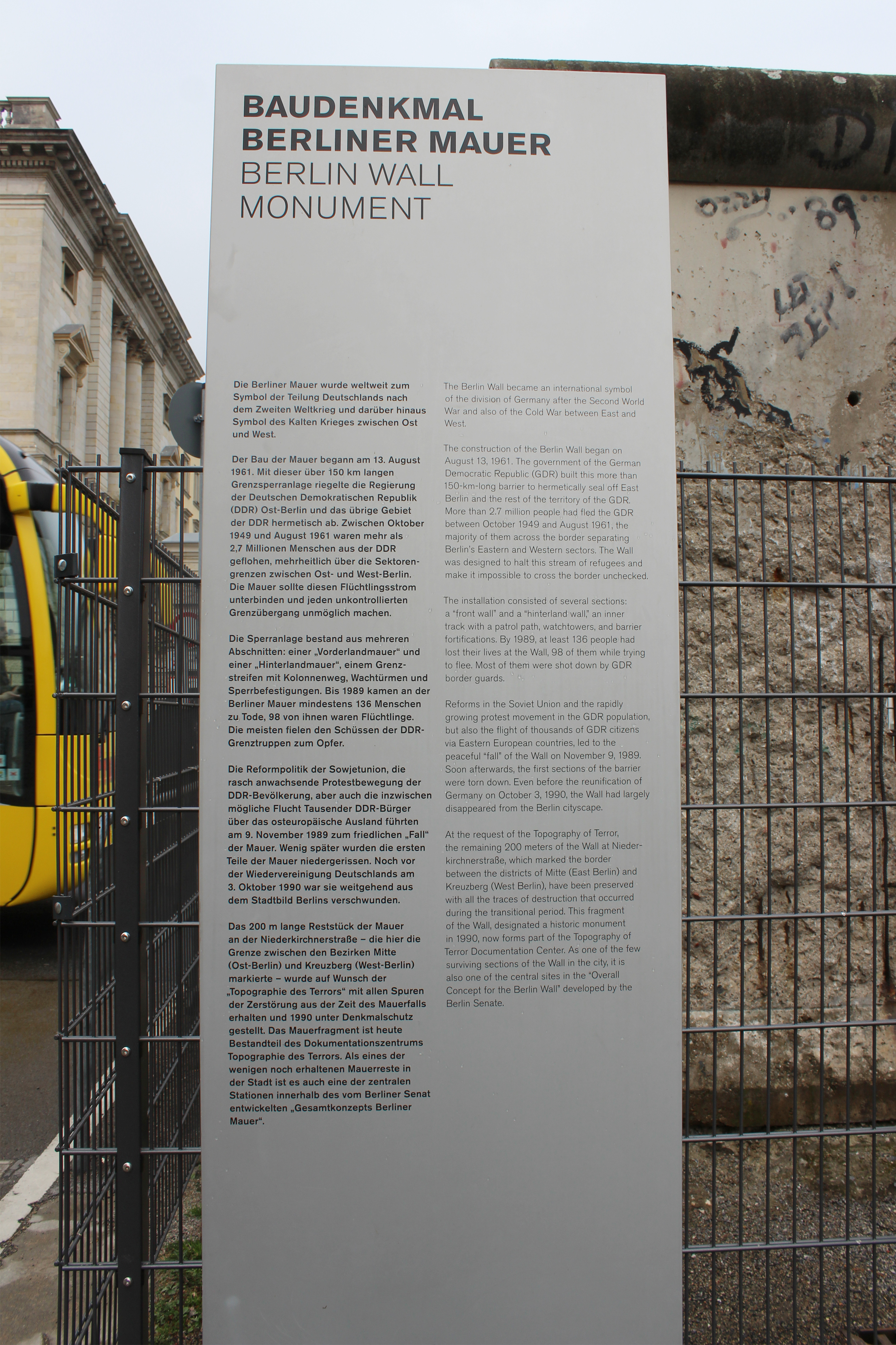 Berlin Wall Selene Abroad