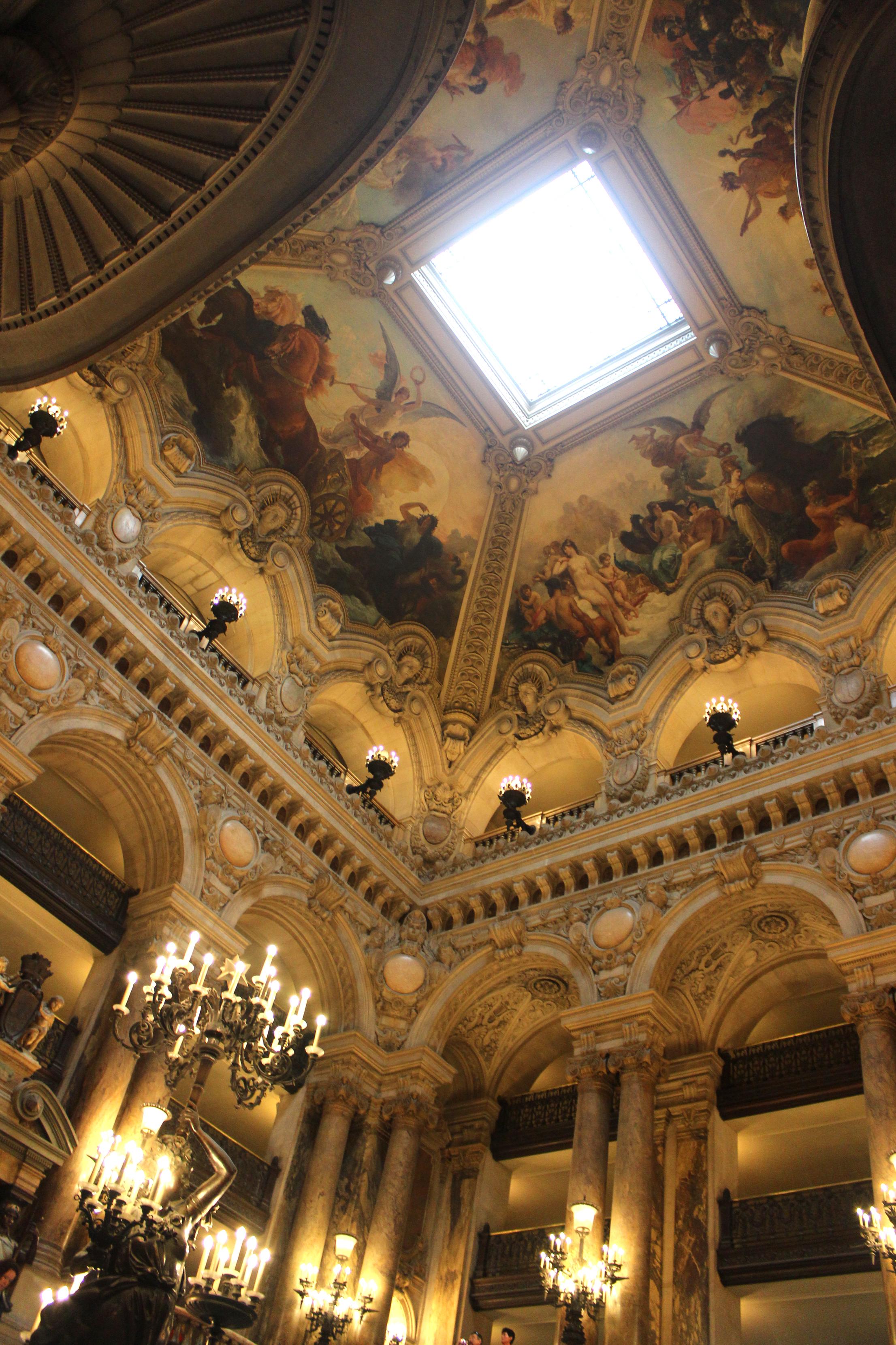 An Afternoon At The Palais Garnier Opera House In Paris