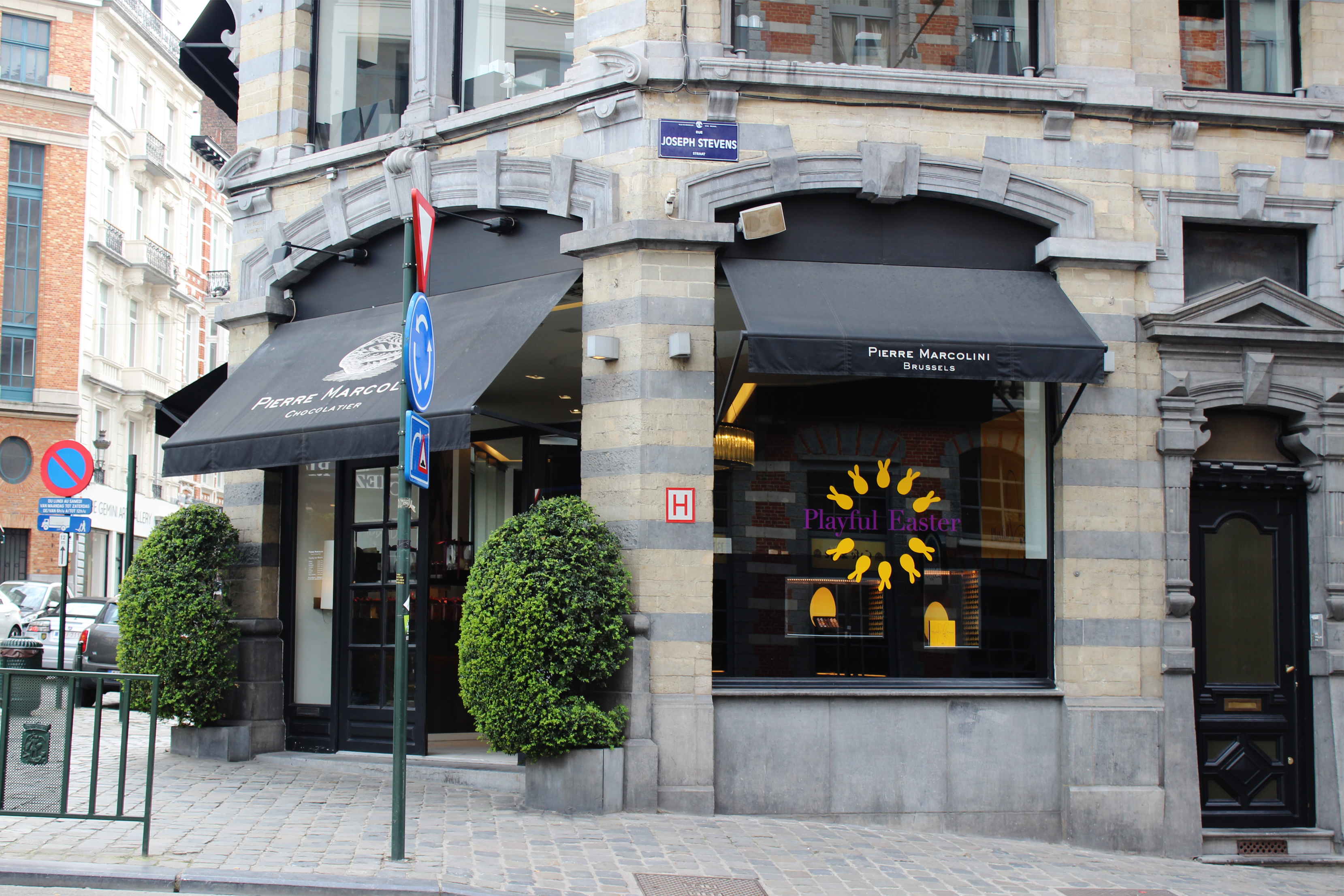 Pierre Marcolini is one of the few chocolate shops in Belgium that ...
