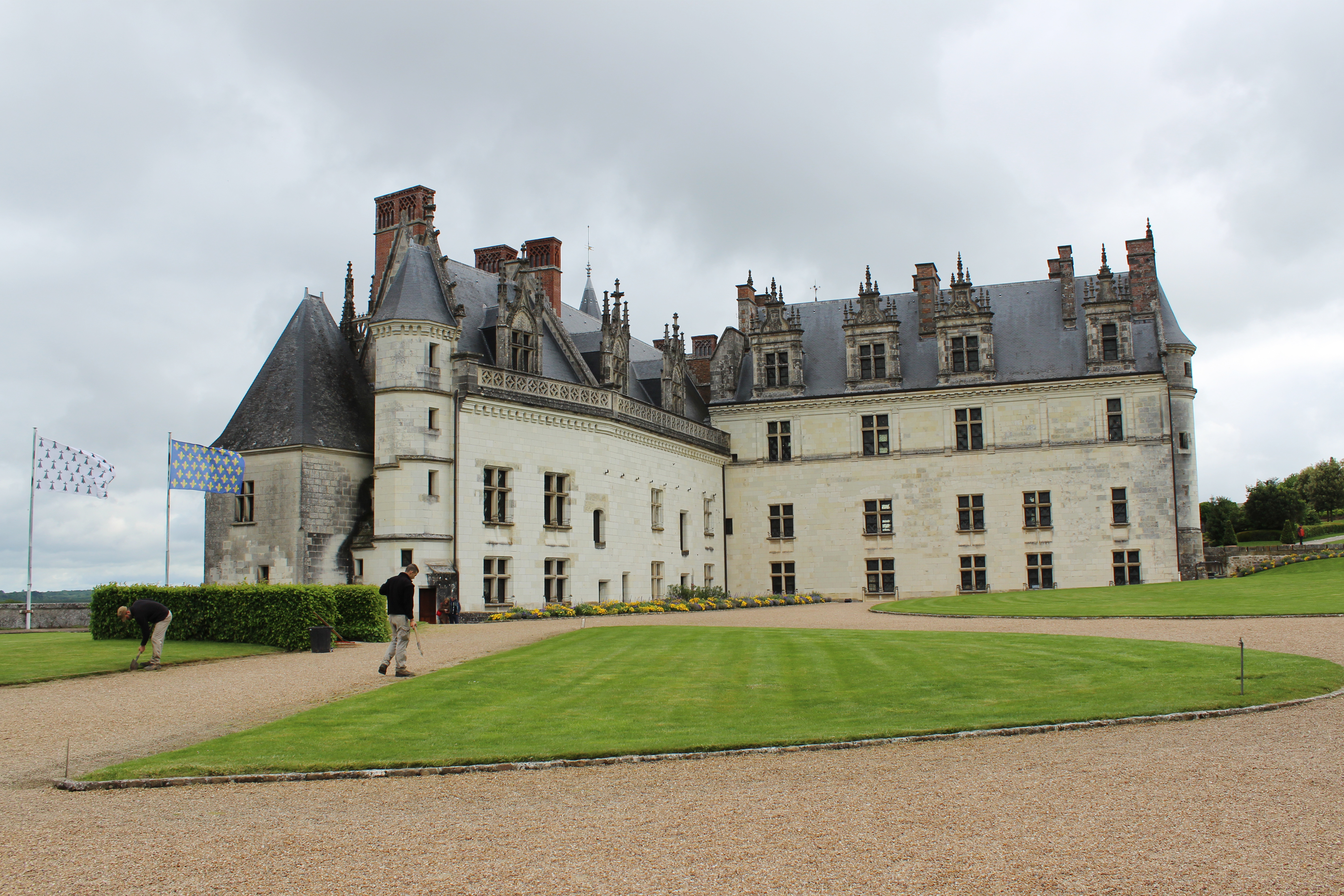 first ch u00e2teau visit of the day  ch u00e2teau d u2019amboise