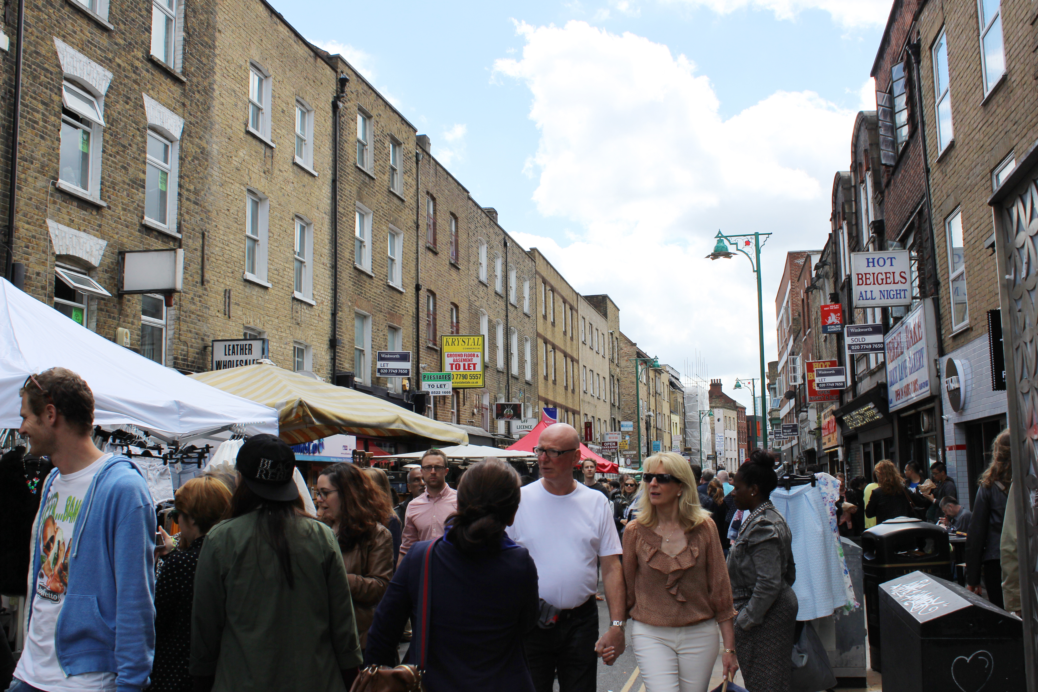 Spent the Sunday Afternoon at Brick Lane Market in East ...