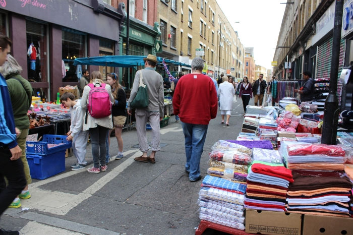 Spent The Sunday Afternoon At Brick Lane Market In East