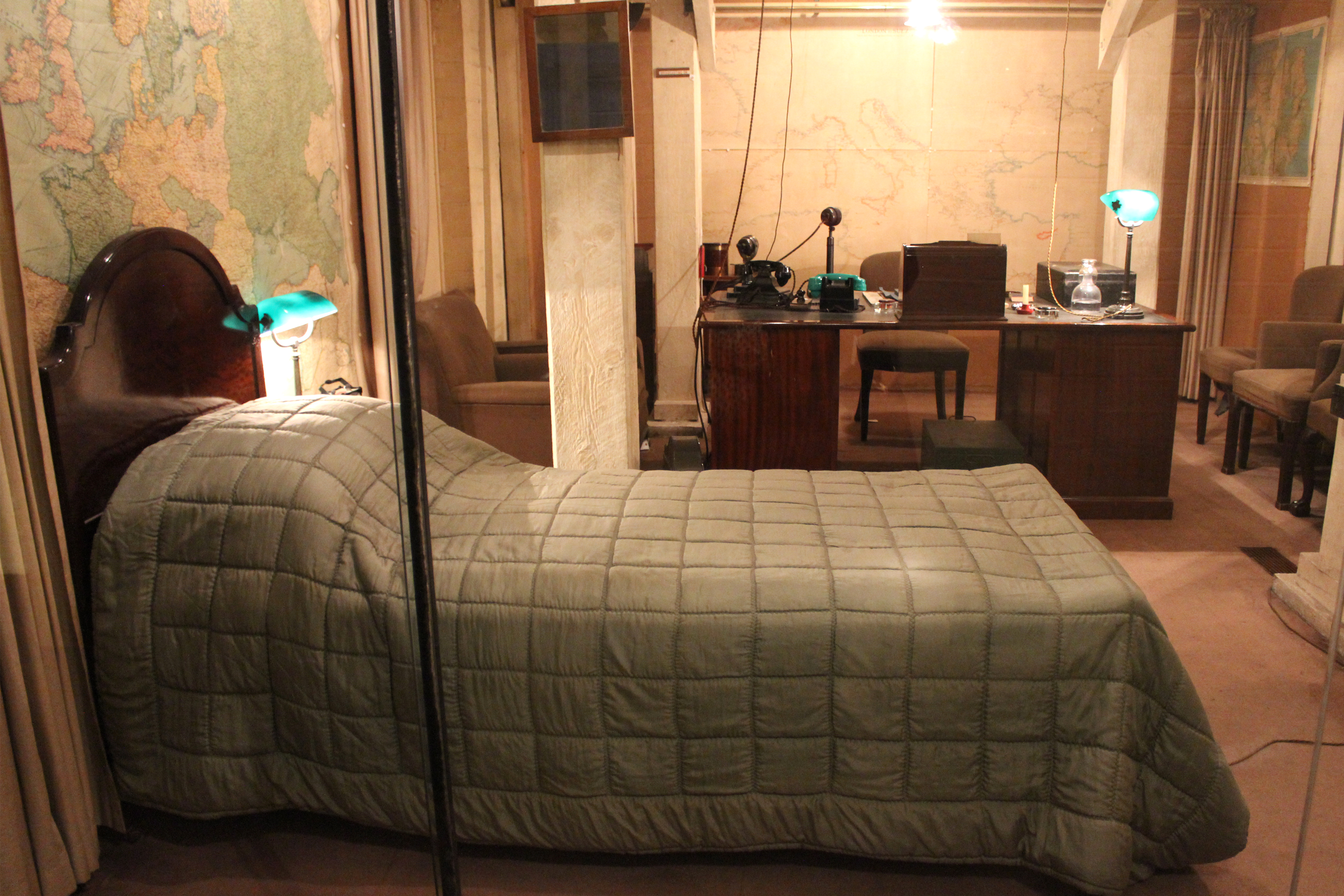 Rooms: Walking Through History At The Churchill War Rooms In
