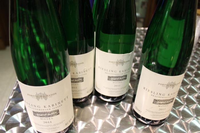 F&M provides samples of some of their products. This is probably the best Riesling I ever tasted!