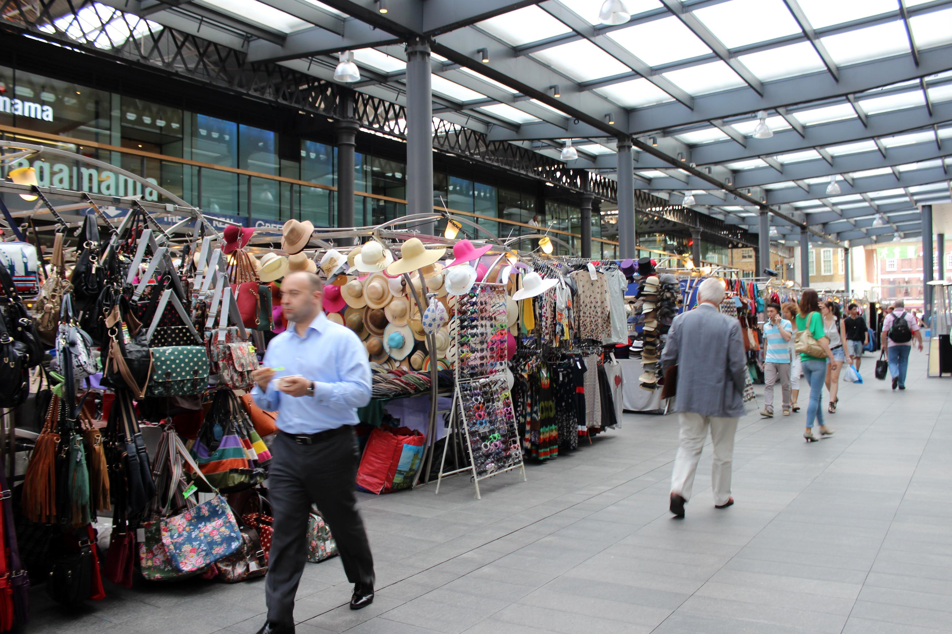 Spitalfields clothing stores